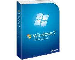 MICROSOFT Windows 7 Professional GGK 32/64 SP1 6PC-00020