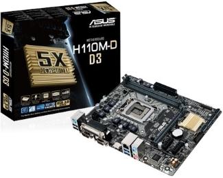 1151 Asus H110M-D D3