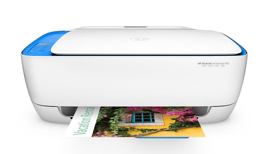HP DeskJet Ink Advantage 3635 all-in-one F5S44C
