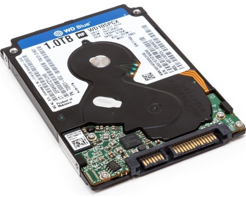 DELL 1TB 2.5 SATA III 16MB 5400rpm WD10SPCX Blue