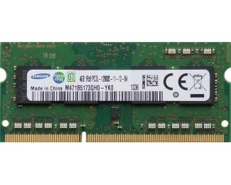 Samsung SODIMM DDR3 4GB 1600Mhz M471B5173EB0-YK0