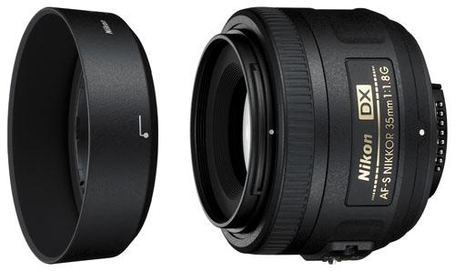 NIKON Obj 35 mm f/1.8G AF-S DX