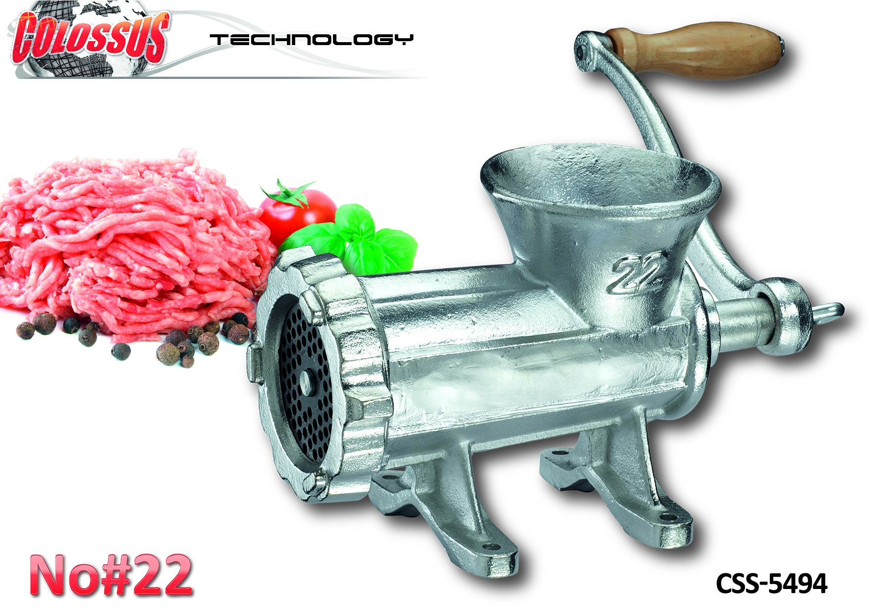 COLOSSUS Mašina za meso 22# CSS-5494