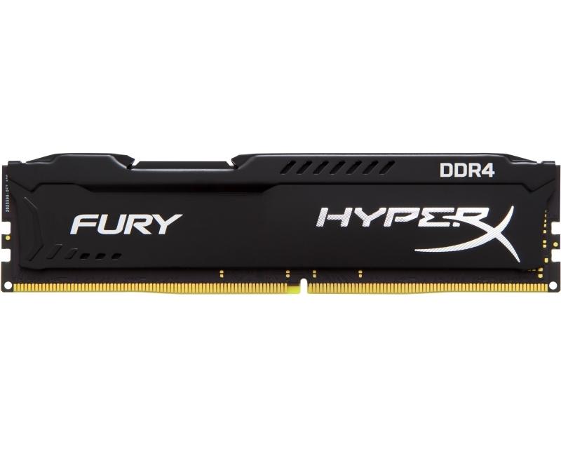 KINGSTON DIMM DDR4 4GB 2666MHz HX426C15FB4 HyperX Fury Black