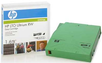 HP C7974A LTO Ultrium-4 Data Tape (800/1.6TB)