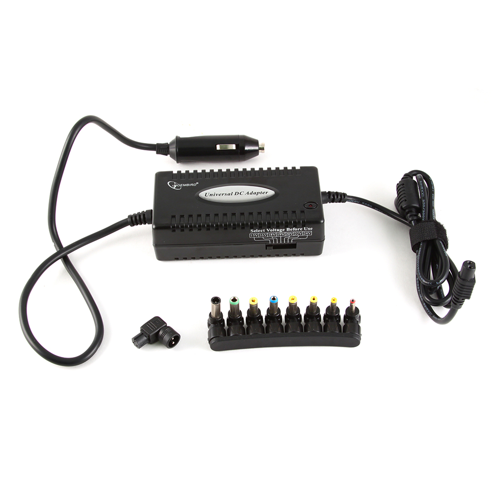 Gembird NPA-DC1 Punjac za laptop 80W univerzalni za auto