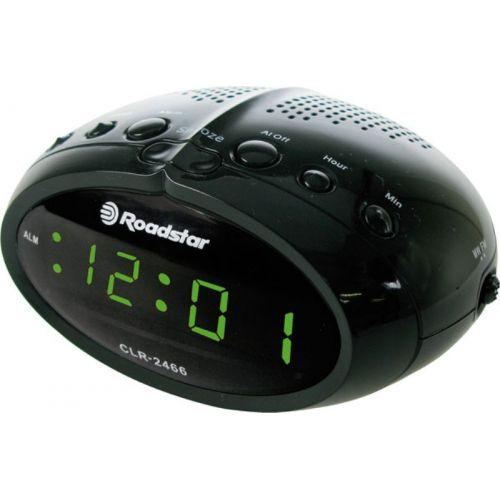 ROADSTAR CLR-2466BK Radio budilnik