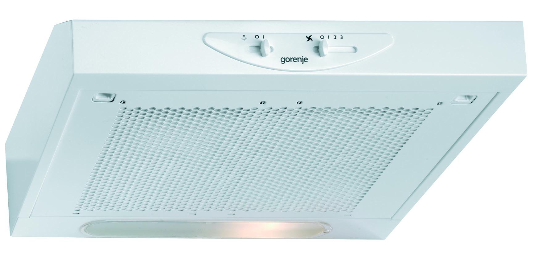 Gorenje DU511W Podugradni kuhinjski aspirator 49,9 × 13,2 × 51 cm