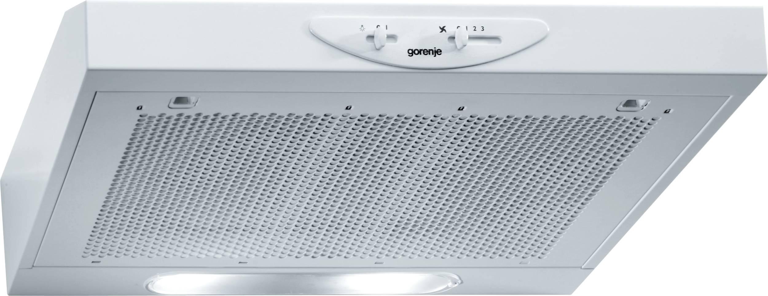 Gorenje DU611W Podugradni kuhinjski aspirator 59,9 × 13,2 × 51 cm