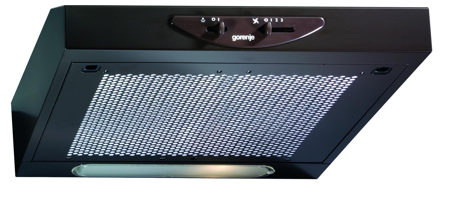 Gorenje DU511B Podugradni kuhinjski aspirator 49,9 × 13,2 × 51 cm