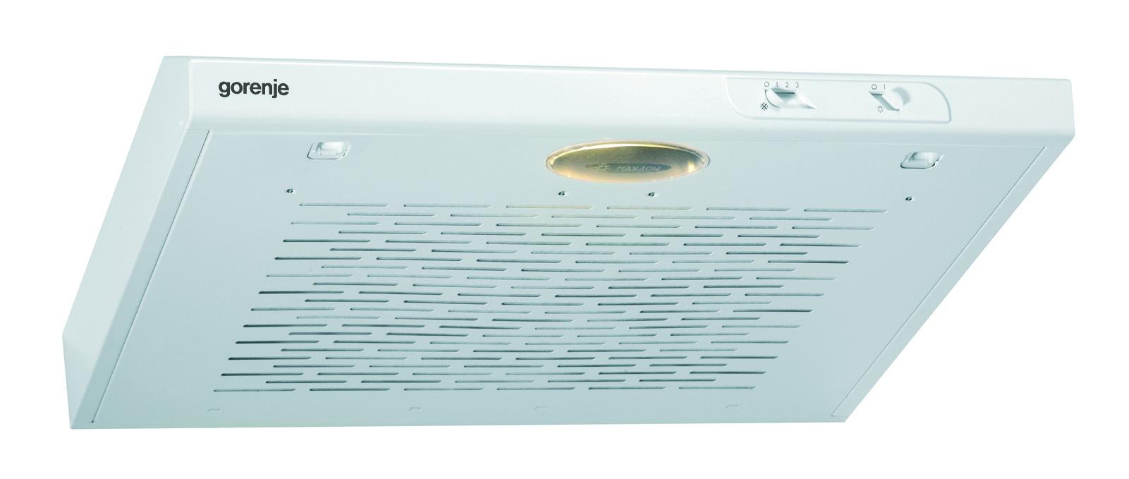 Gorenje DU6115W Podugradni kuhinjski aspirator 59,8 × 7,7 × 47 cm