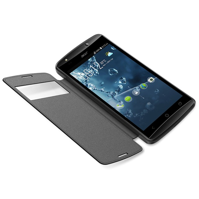Acer Flip Cover E5_E700 with window Black_retail pack