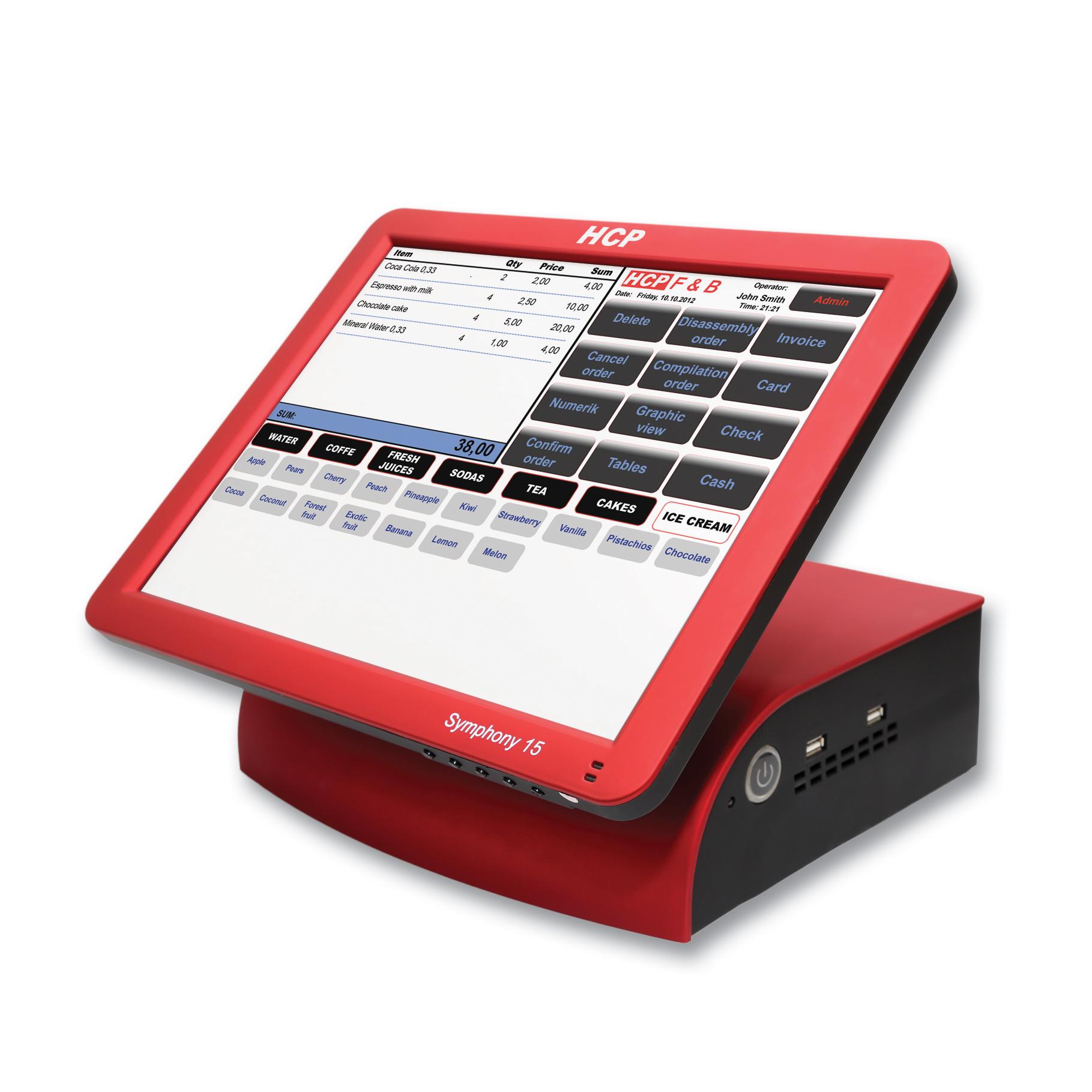 HCP Symphony 15W POS uređaj bez OS-a