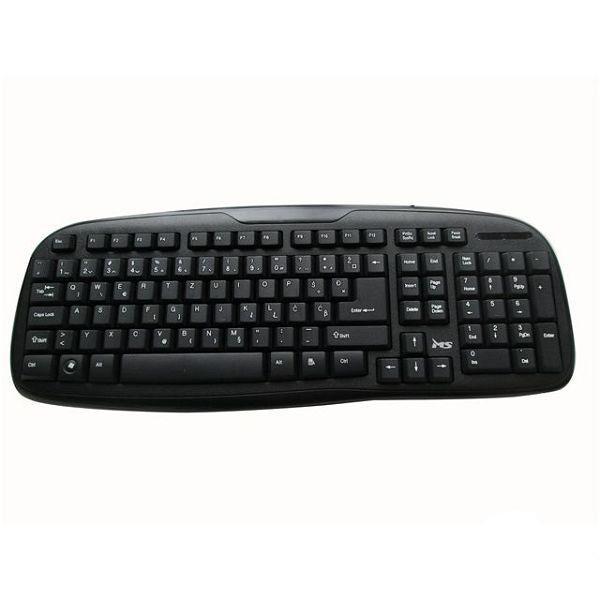 MS KAPPA USB, basic žičana tastatura, USB priključak, boja crna