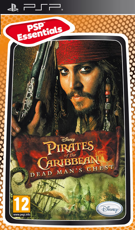 PSP Pirates of the Caribbean: Dead Mans Chest Essentials