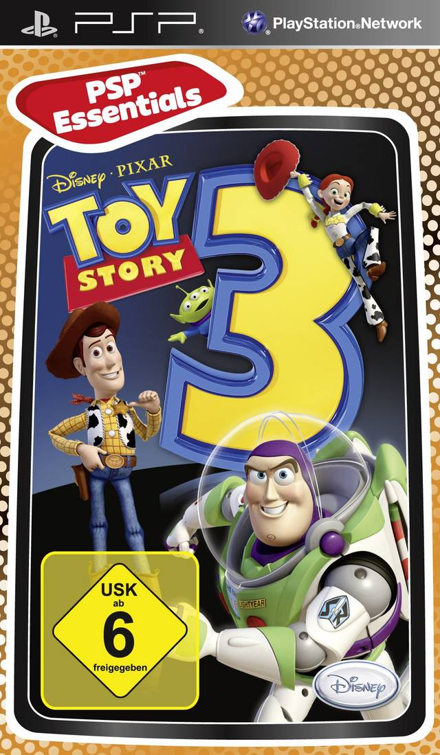 PSP Toy Story 3 Essentials