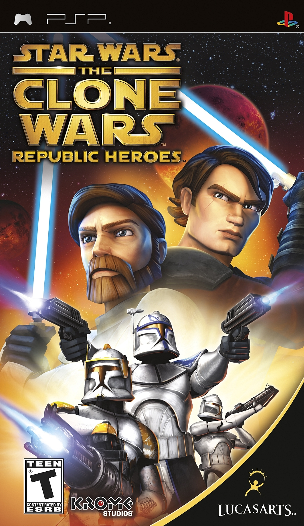 PSP Clone Wars Republic Heroes