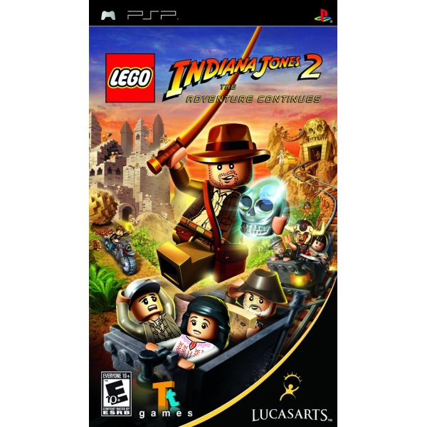 PSP LEGO Indiana Jones 2 The Adventure Continues Essentials