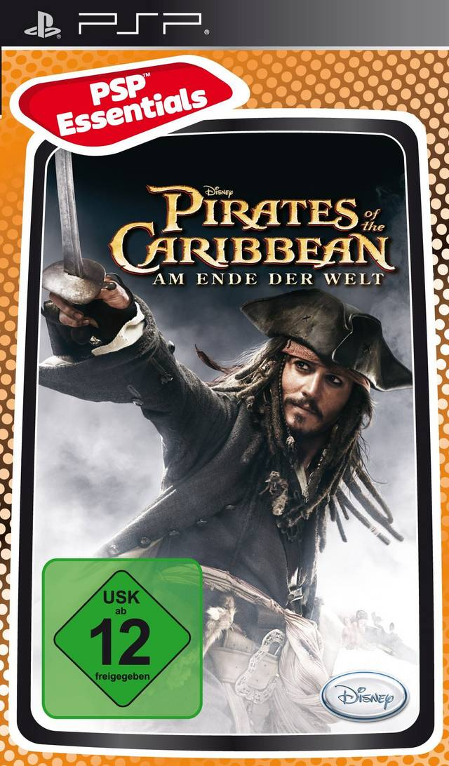PSP Pirates of the Caribbean: At Worlds End Essentials