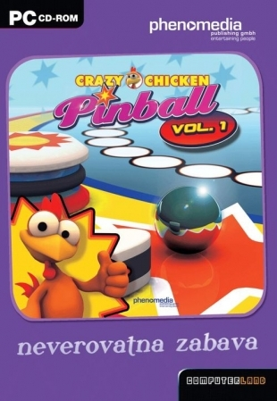 PC Crazy Chicken Pinball vol. 1