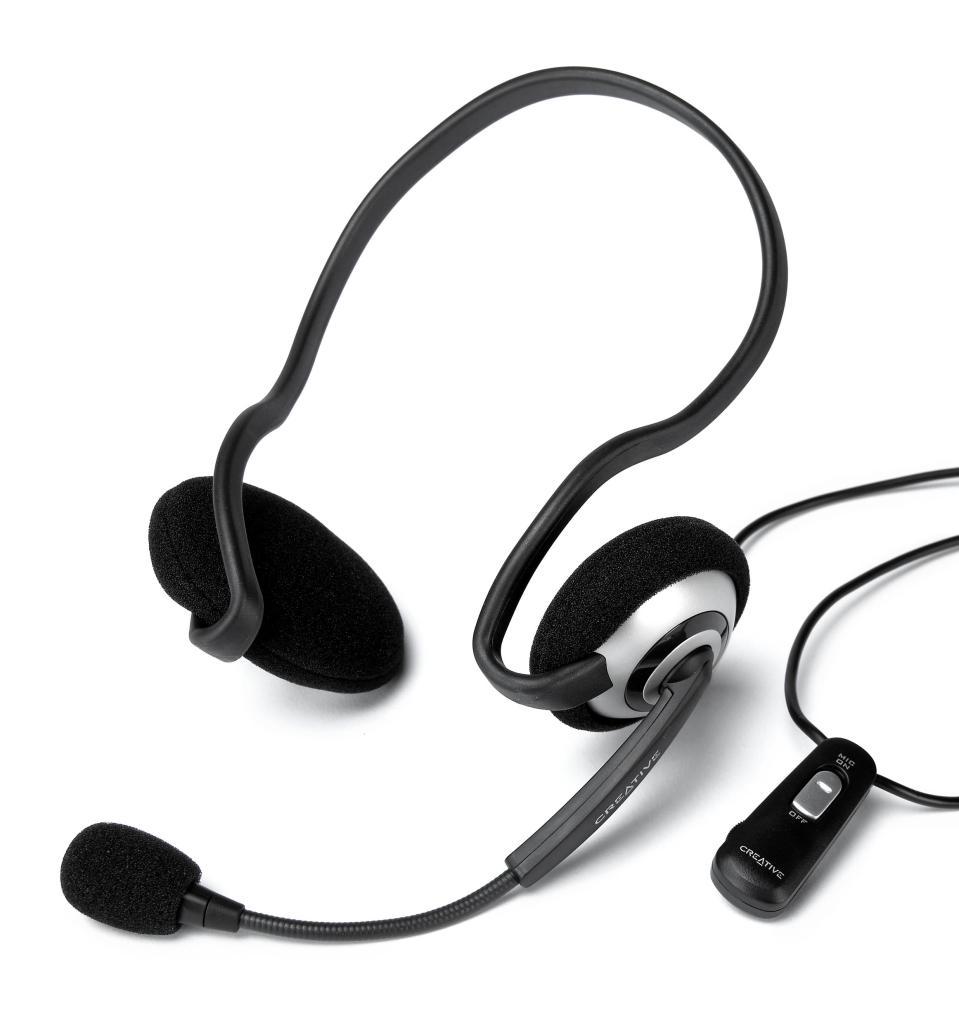 Creative Labs HS-390 Headset Black (51MZ0305AA005)