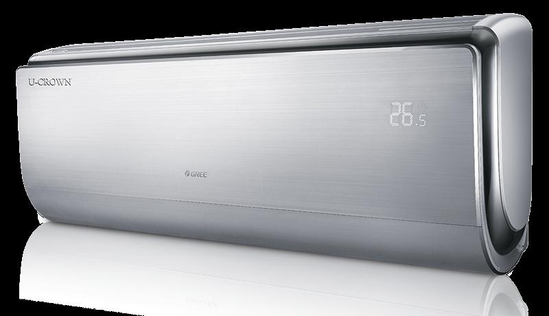 GREE 9000 Btu/h GWH09UB-K3DNA4F Klima Split Inverter U-CROWN PREMIUM Silver