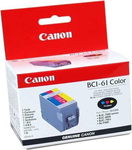 Cartridge Canon BCI-61 COLOR