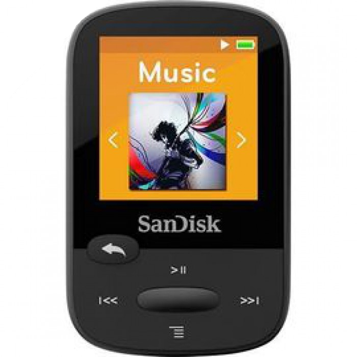 SanDisk MP3 Sansa Clip Sports 4gb crni, FM