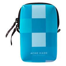 Acme Made Smart Little Pouch (blue gingham) futrola