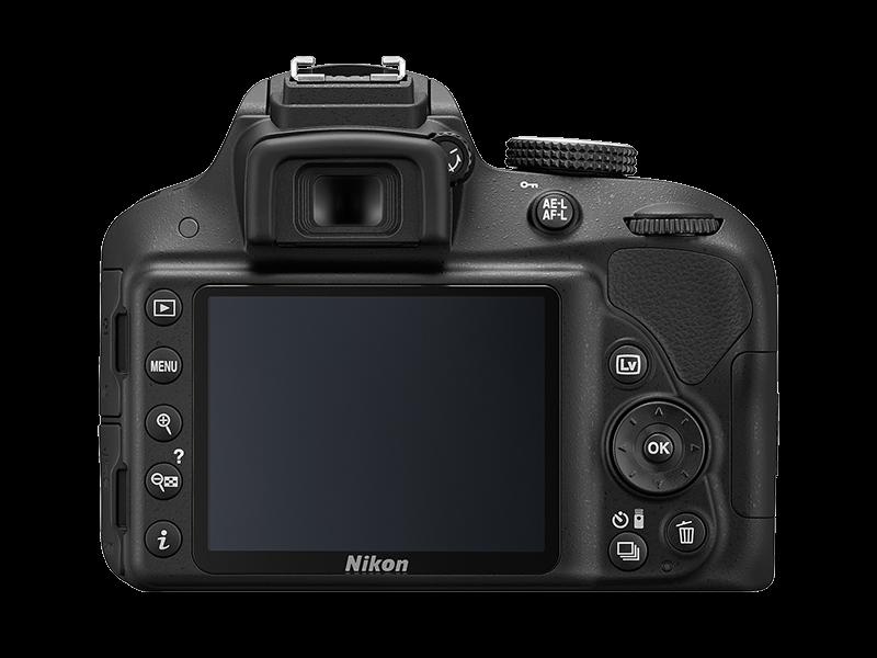 NIKON D3300 + 18-105mm VR II