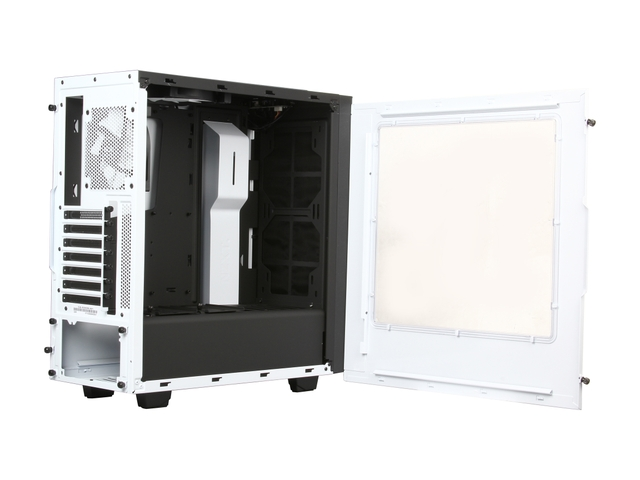 NZXT S340 Mid Tower Case Withe