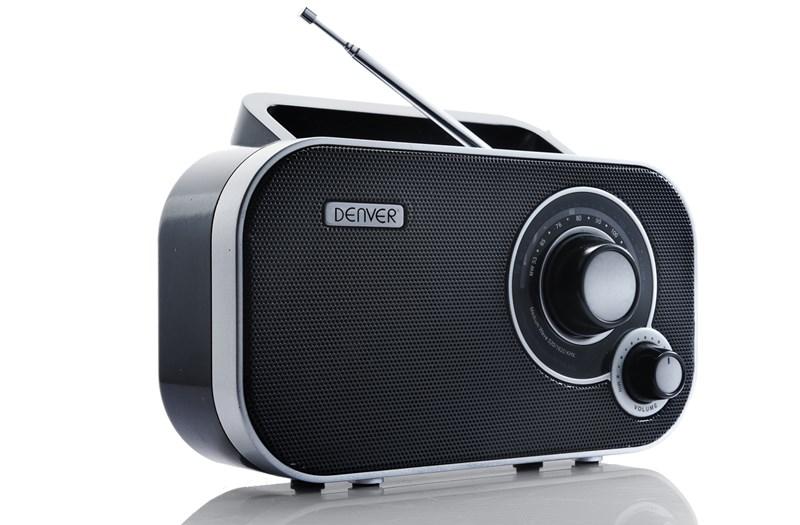 DENVER TR-54 CRNI AM/FM Radio