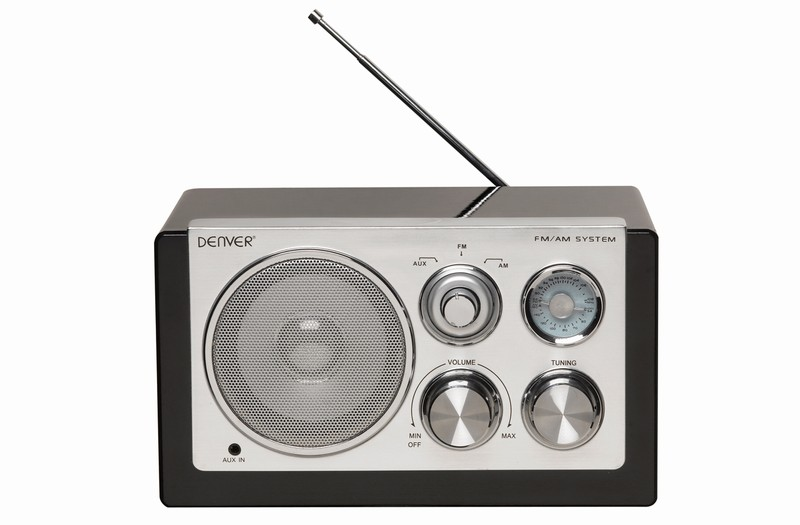 DENVER TR-61 CRNI AM/FM Radio