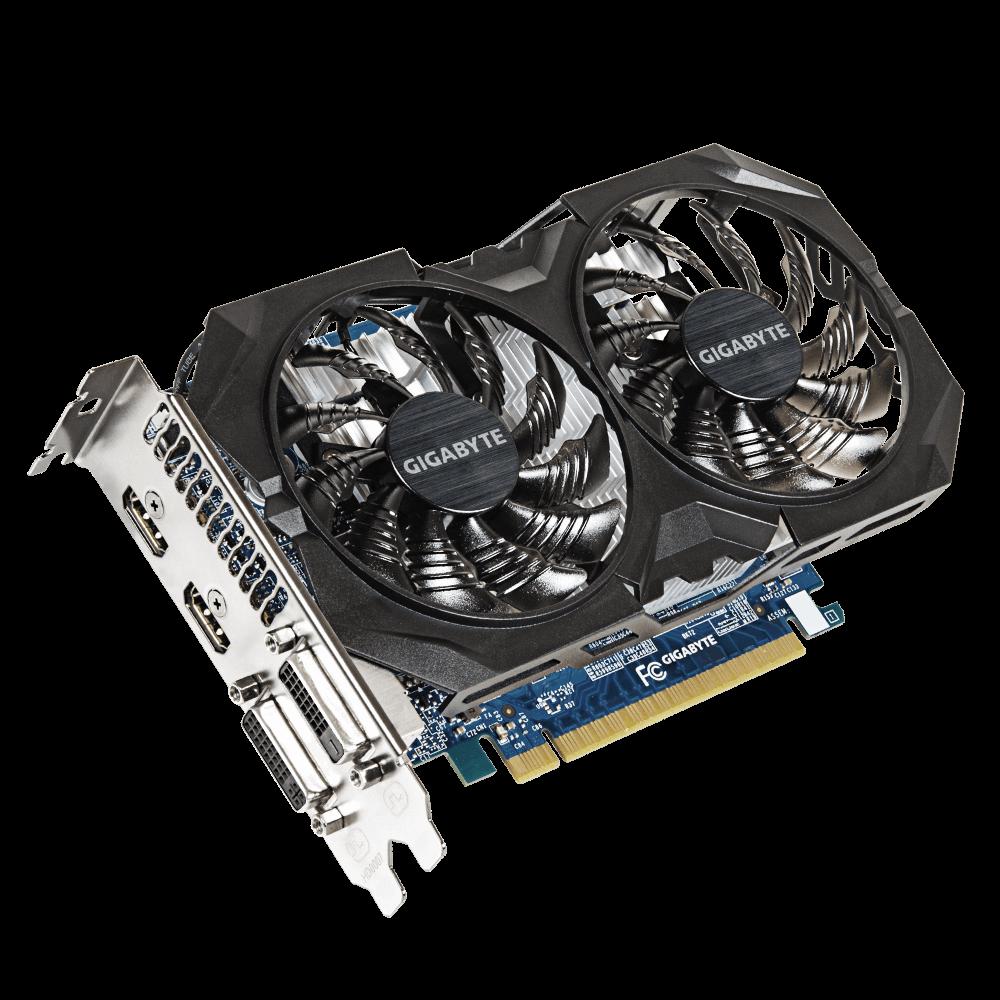 Gigabyte nVidia GeForce GTX 750Ti 4GB DDR5 128bit (GV-N75TWF2OC-4GI)