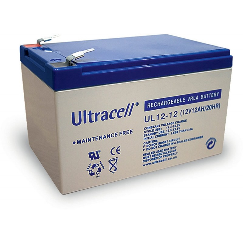 Ultracell Battery 12V / 12.0Ah, UPS