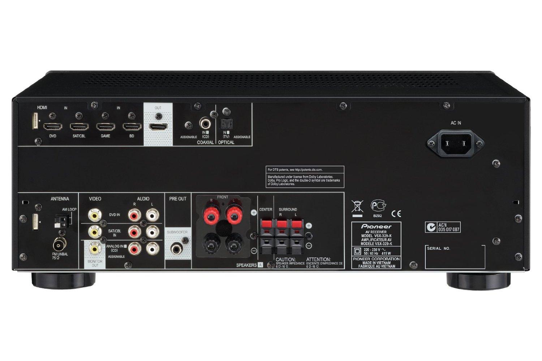 Pioneer VSX-329-K AV risiver