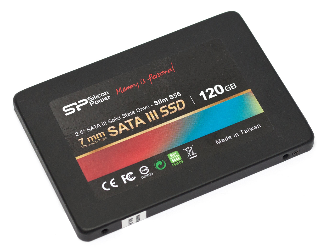 Silicon Power SSD SP120GB SS3S55S25