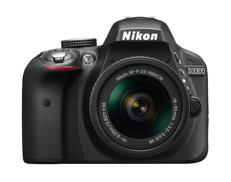 Nikon D3300 crni set 18-55mm VR AF-P