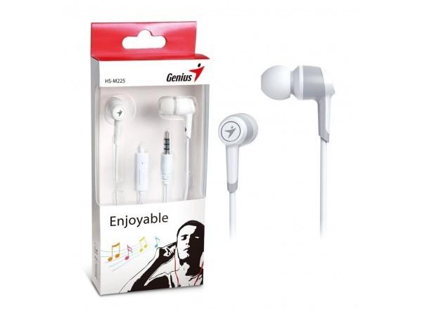GENIUS HS-M225 bele slušalice sa mikrofonom