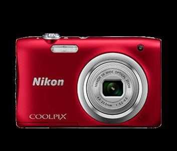 NIKON Coolpix A100 crveni Kompaktni fotoaparat
