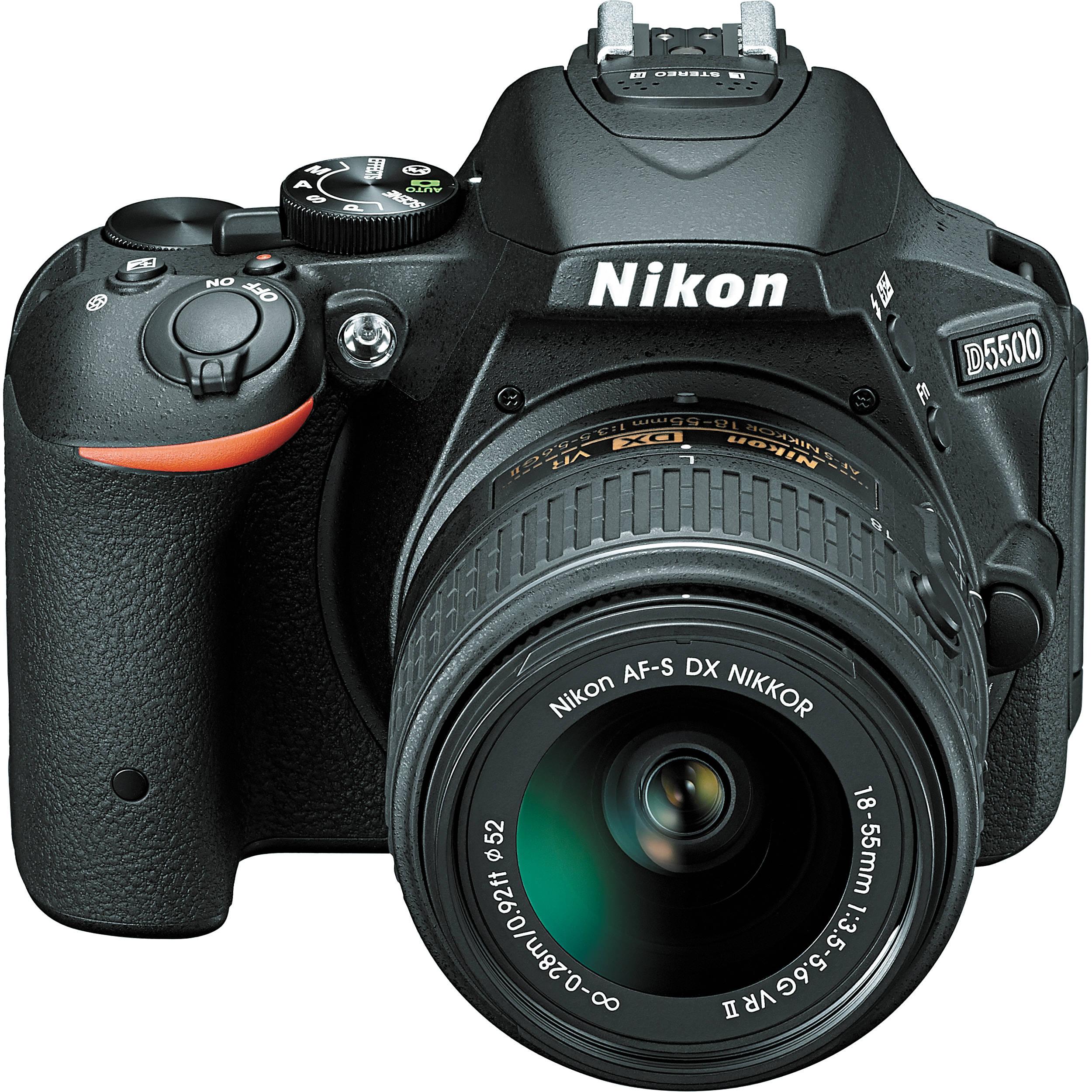 NIKON D5500 + 18-55mm VR AF-P