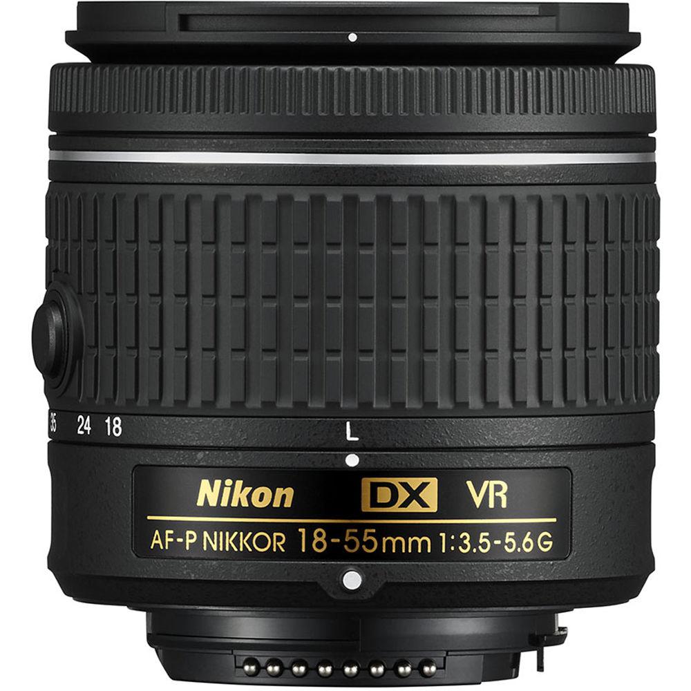 NIKON 18-55mm f/3.5-5.6G VR AF-P DX Objektiv