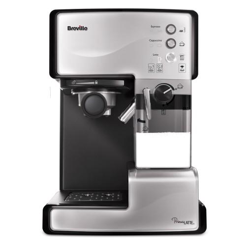 BREVILLE VCF045X sivi Aparat za espresso Prima Latte