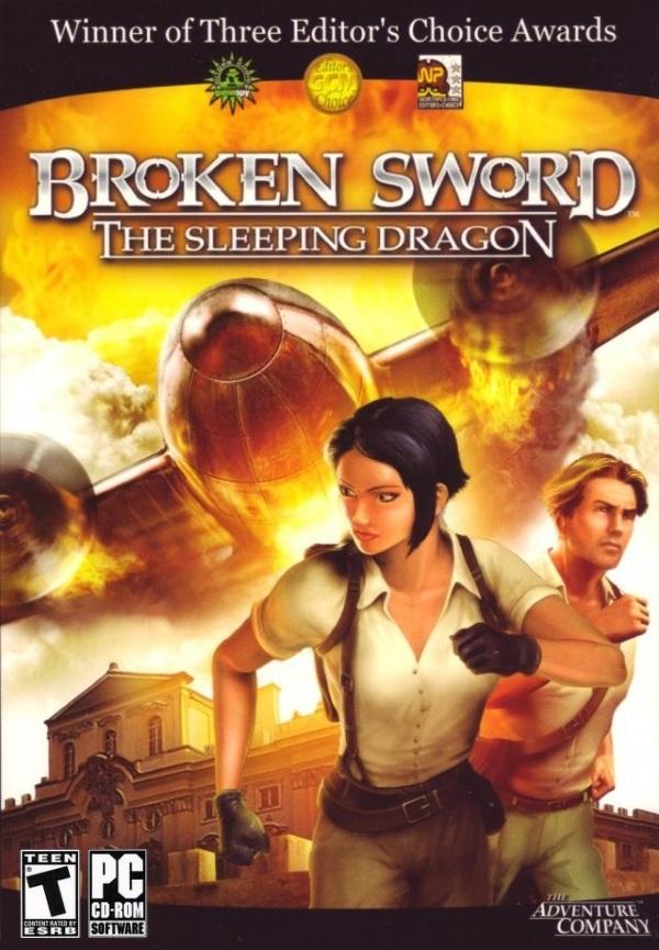 PC Broken Sword 3 Sleeping Dragon