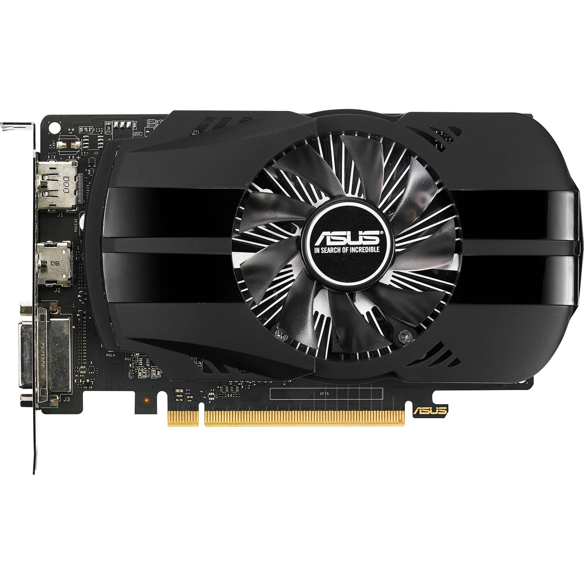 Asus nVidia GeForce GTX 1050 2GB 128bit (PH-GTX1050-2G)