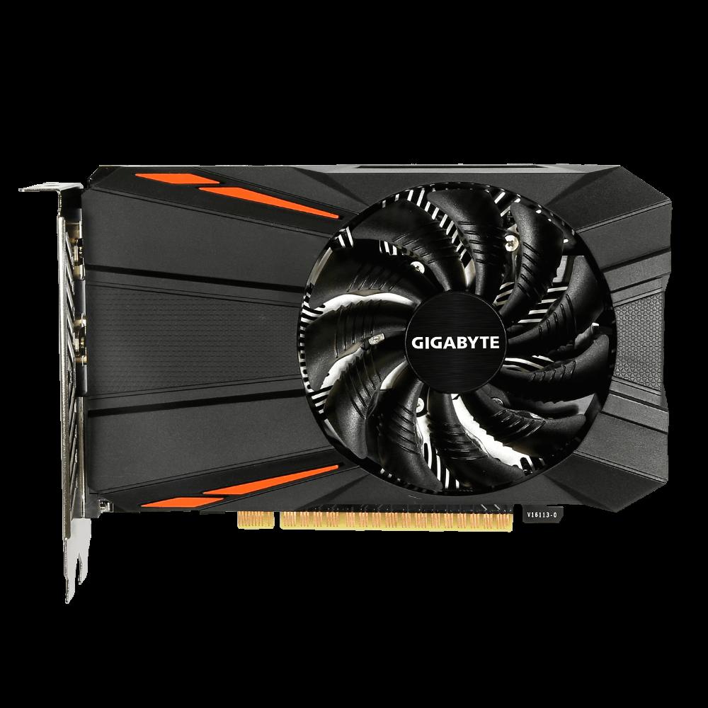 GIGABYTE nVidia GeForce GTX 1050 2GB 128bit GV-N1050D5-2GD rev. 1.0