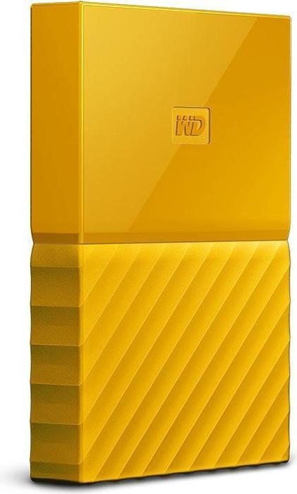 WD 2.5 My Passport 1TB eksterni HDD Yellow WDBYNN0010BYL-WESN