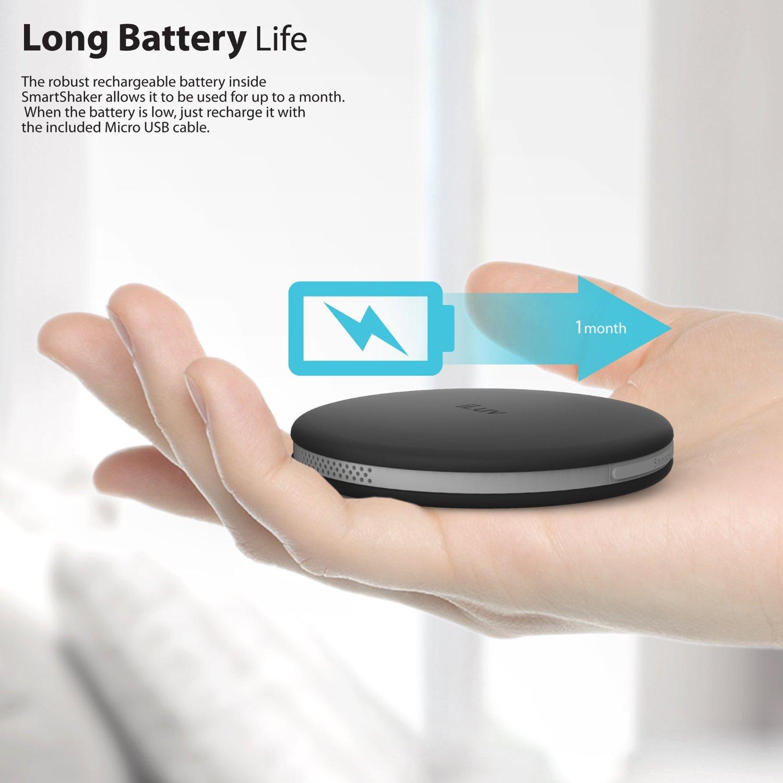 iLuv Bluetooth Smart Alarm Shaker (SmartShaker) Black